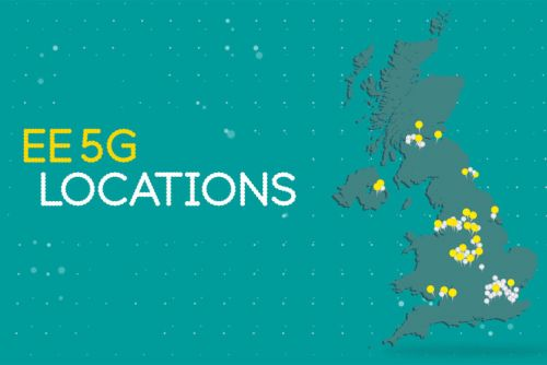 EE now has 5G in 80 locations, a year after launch
