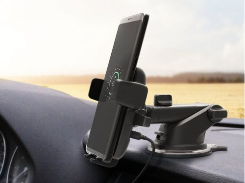 Charge your phone on the way to your destination with iOttie's $42 QI Wireless Car Mount