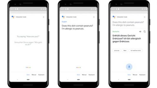 Google's Interpreter Mode Arrives on Mobile Phones to Ease Foreign Travel