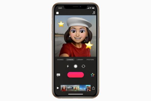 You can now use Memoji and Animoji in Apple's Clips app