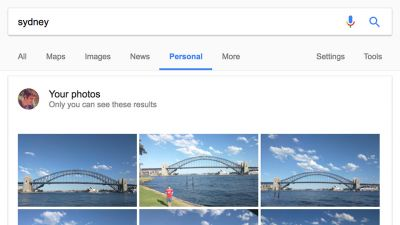 Google makes it easier to find your own stuff from the search box