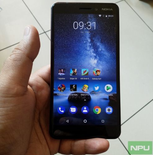 August Security update available for Nokia 6.1 now