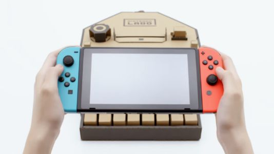 Nintendo Labo Turns Switch Console Into Interactive Toys