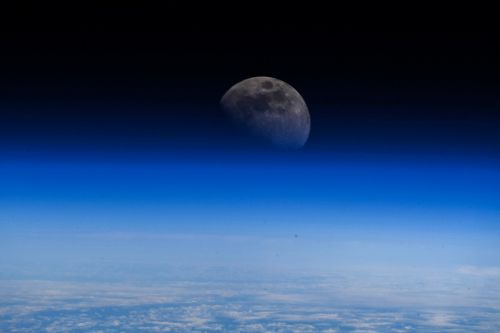 Ice may exist on the moon's surface at hundreds of locations - and that could be very good news for colonizing space