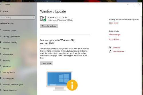 Even Microsoft Surface devices are waiting for the Windows 10 May 2020 Update