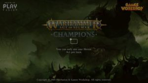 Warhammer:  Age of Sigmar Champions - Du physique à la Switch