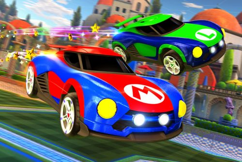 Rocket League for Nintendo Switch hits the high street in January 2018