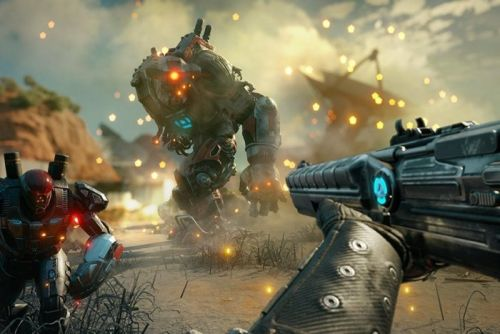 Hands-on: Rage 2's Doom-inspired action is a maelstrom of guns, grenades, and gore