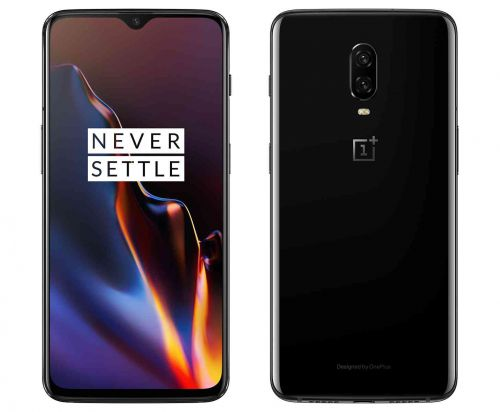 OnePlus 6T official with in-display fingerprint sensor, bigger battery, and smaller notch