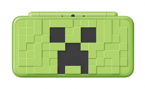 Special edition Minecraft Nintendo 2DS XL features gigantic Creeper face