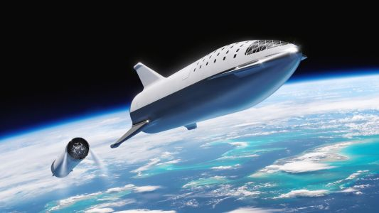 Elon Musk just gave the most revealing look yet at the rocket ship SpaceX is building to fly to the moon and Mars