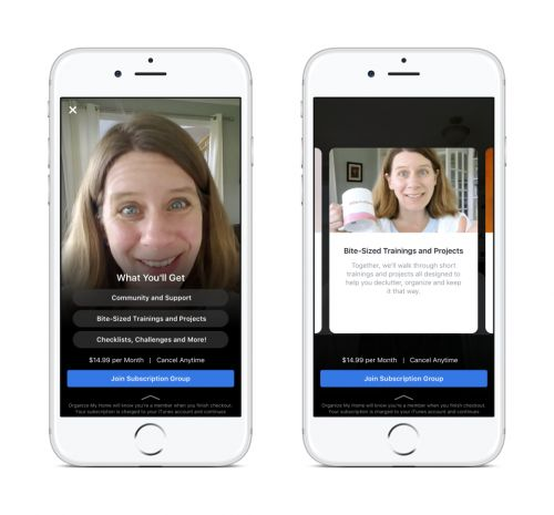 Facebook Tests Subscription Groups To Help Admins Earn Money
