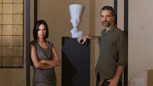 How Two Artists Illegally Scanned An Egyptian Artifact With Kinect