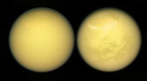 Astronomers Find Evidence of Seasonal Weather on Titan