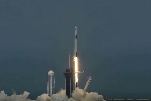 SpaceX successfully launches first crew to orbit, ushering in new era of spaceflight