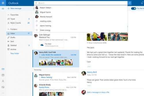Microsoft's new Outlook.com design is rolling out now