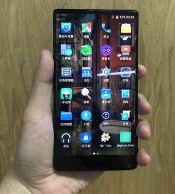 Elephone S8 Leaked in Hands on Pictures, Features Edge to Edge Screen