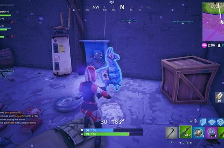 Fortnite 'Search jigsaw puzzle pieces in basements' challenge guide
