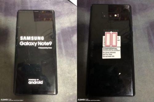 Leaked Galaxy Note 9 photo looks legit - CNET