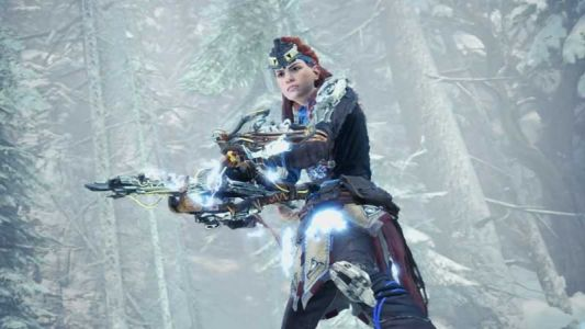 Horizon Zero Dawn's Aloy Once Again Crossing Over Into Monster Hunter: World On PS4