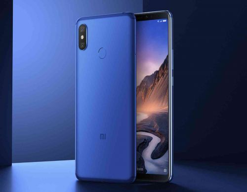 Xiaomi Mi Max 3 official with 6.9-inch screen, 5500mAh battery