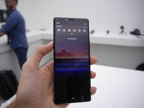 Sony Xperia 1 with SD855 & a 4K screen starts pre-sale in the UK