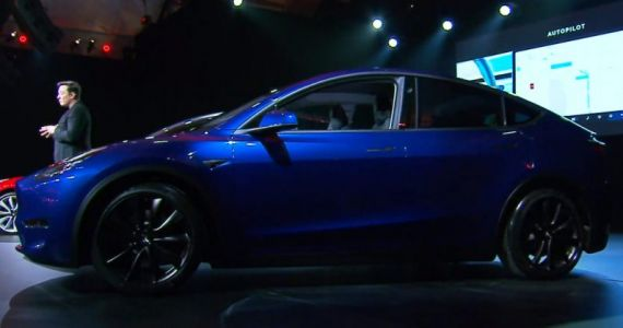 Tesla unveils its Model Y electric SUV, starting at $39,000 and arriving next fall