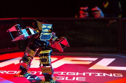 If 'Rock 'Em Sock 'Em Robots' debuted today, they'd probably look like this