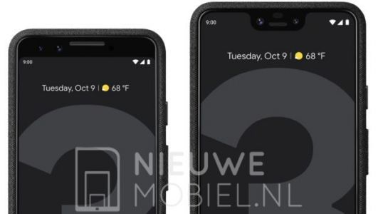 Google Pixel 3 and 3 XL leak again through official press renders