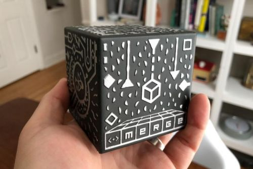 Merge Cube review: A clever but short-lived augmented reality toy