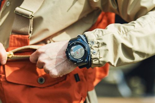 Casio announces a cheaper version of its Wear OS watch for hikers