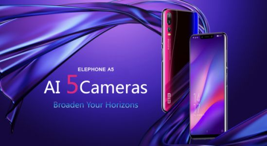 ELEPHONE A5 with five cameras is here for just $199.99
