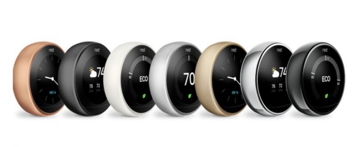 Nest Learning Thermostat is now available in 3 new colors