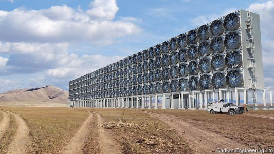 Extracting carbon dioxide from the air is possible. But at what cost?
