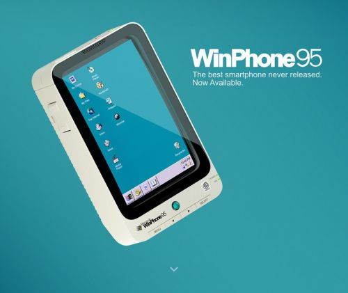 The WinPhone 95 is the best Windows phone that never existed
