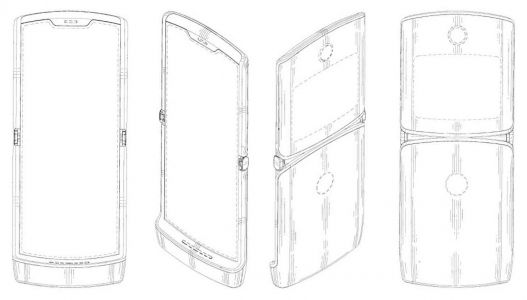 Motorola's foldable RAZR design may have been revealed by patent filing