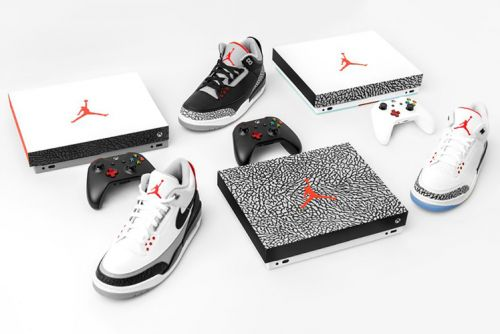 Nike and Xbox have made three Air Jordan III Xbox One X consoles, and you can win one