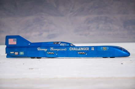 Danny Thompson just set a land speed record in a 50-year-old car