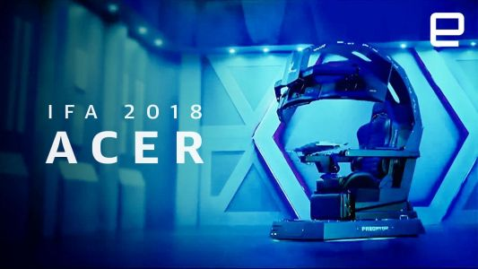Watch Acer's IFA 2018 event in 9 minutes