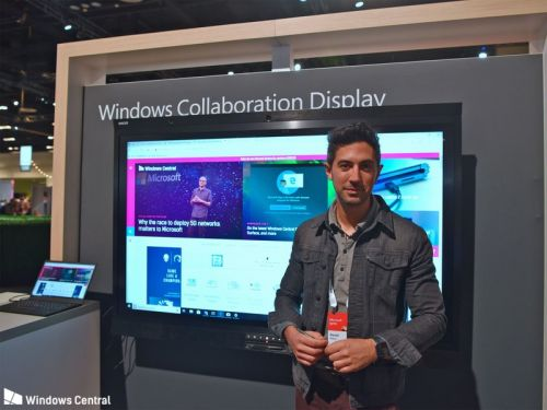 Hands-on with Avocor's Windows Collaboration Display