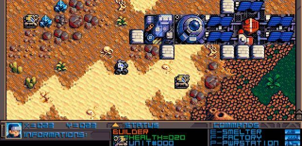 Planet X3 is a brand new CGA DOS game in development