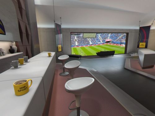 PSVR's World Cup 'executive suite' is more ludicrous than luxurious