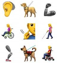 Apple Proposes New Emoji to Represent Those with Disabilities