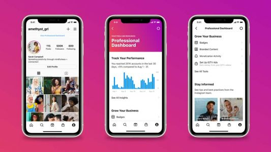 Instagram Introduces Professional Dashboard For Businesses & Creators