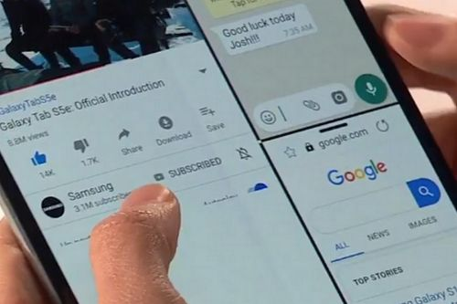 Samsung Galaxy Fold: Will it have an ugly display seam?