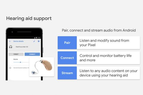 Google is developing native hearing aid support for Android