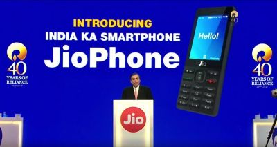 India's Jio is effectively giving away its 4G-enabled feature phone