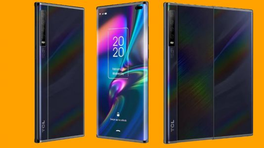 Leaked TCL is an alternative to foldable phones, but still has a tablet-like screen