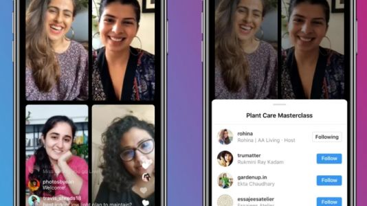 Instagram launches 'Live Rooms' -- you can now go live with up to three people