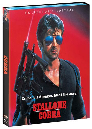 'Cobra' Collector's Edition Blu-ray Starring Sylvester Stallone Gets Fully Detailed